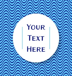 Place for your text vector image