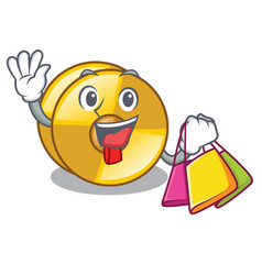 Shopping cyamblas in the a mascot room vector