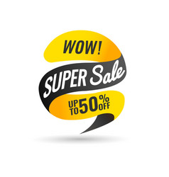 Today only mega sale banner vector