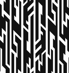 monochrome aztec geometric seamless pattern vector image vector image