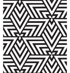 Geometric seamless pattern Modern triangle texture vector