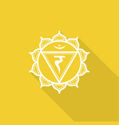 Manipuraset of beautiful indian ornamental chakra vector