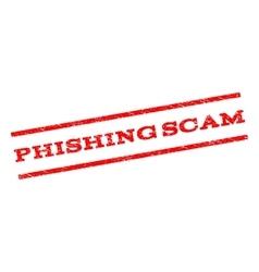 Phishing scam watermark stamp vector