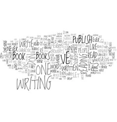 Why do we publish text word cloud concept vector