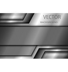 Abstract metal background EPS 10 vector image