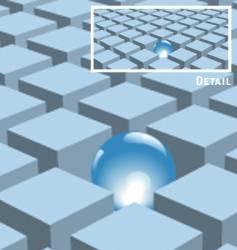 cubes design elements vector image