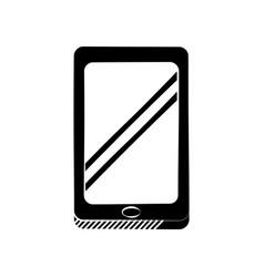 smartphone technology communication pictogram vector image vector image
