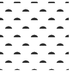 small crown pattern vector image