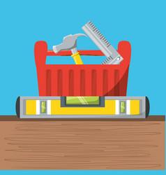 tool box to repair service vector image