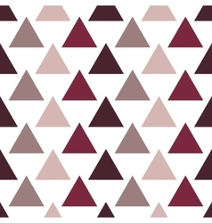 Triangles seamless pattern vector image vector image