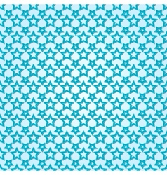 abstract background seamless pattern with stars vector image