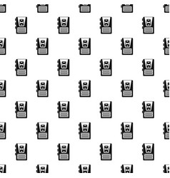 Dictaphone pattern vector