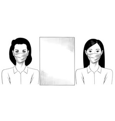 instructions for office portraits two vector image