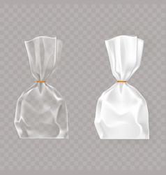 Set of realistic of plastic vector