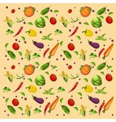 Vegetables background assorted vector