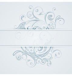 patterned background vector image vector image