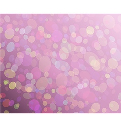 Abstract circles background made from triangles vector image