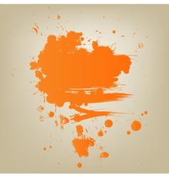 Artistic paint banner vector image