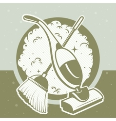 cleaning vector image
