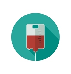 Donate blood icon vector