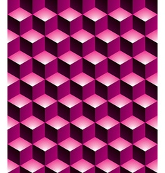 Geometric seamless pattern endless colorful vector image