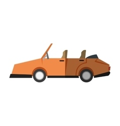 Isolated car desgin vector image
