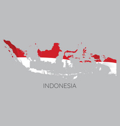 map indonesia vector image
