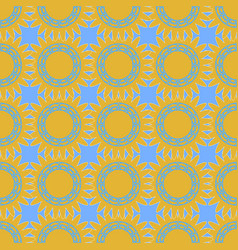 seamless texture of repeating geometric shapes in vector image