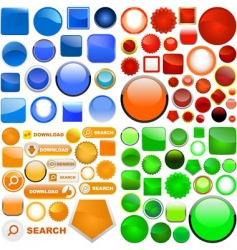 vector icon set vector image