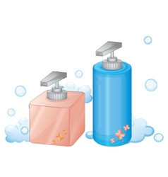 dispenser bottle vector image