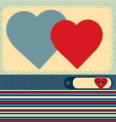 love photo album vector image vector image