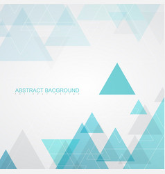 abstract background textures by turquoise triangle vector image vector image