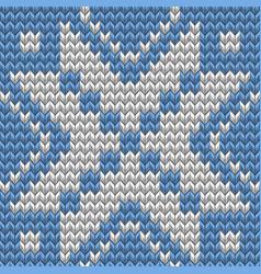 christmas seamless knitting background eps 10 vector image vector image