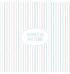 abstract seamless pattern of hand drawn lines vector image