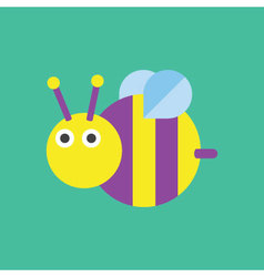 Bee Icon Insect vector image