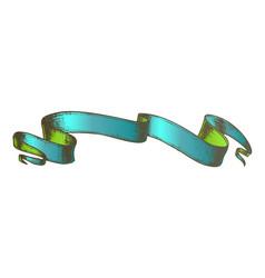 Color website decoration element ribbon doodle vector