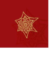 Elegant golden frame banner with gold crown vector