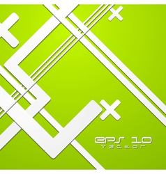 Green colourful technical background vector image