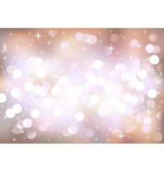 Pastel festive lights background vector