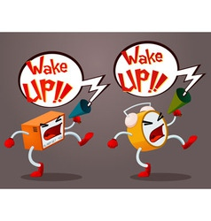 Screaming Alarm vector