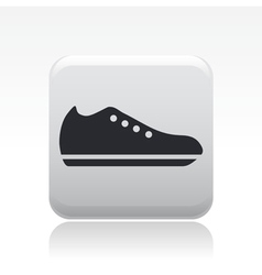 Shoe icon vector