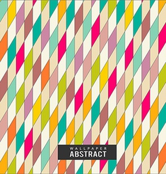 Wallpaper colorful triangles pattern geometric vector