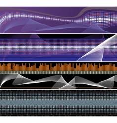 abstract backgrounds for design vector image vector image
