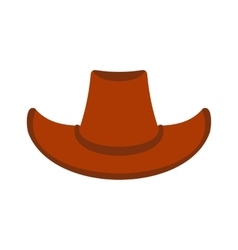 Cowboy hat icon vector image