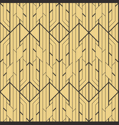 abstract art deco geometric seamless pattern vector image