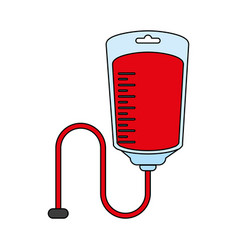 blood unit vector image
