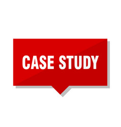 Case study red tag vector
