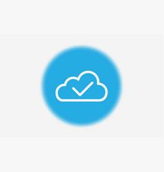 cloud icon sign symbol vector image
