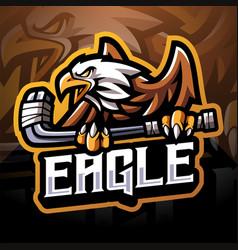 Eagle sport esport mascot logo vector
