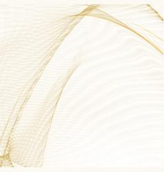 healthcare complex concept shining golden lines vector image